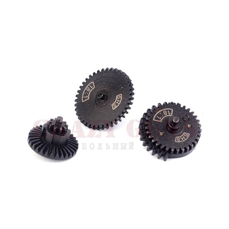 НАБОР ШЕСТЕРНЕЙ gearset 18:1 CNC Steel SHS CL14002