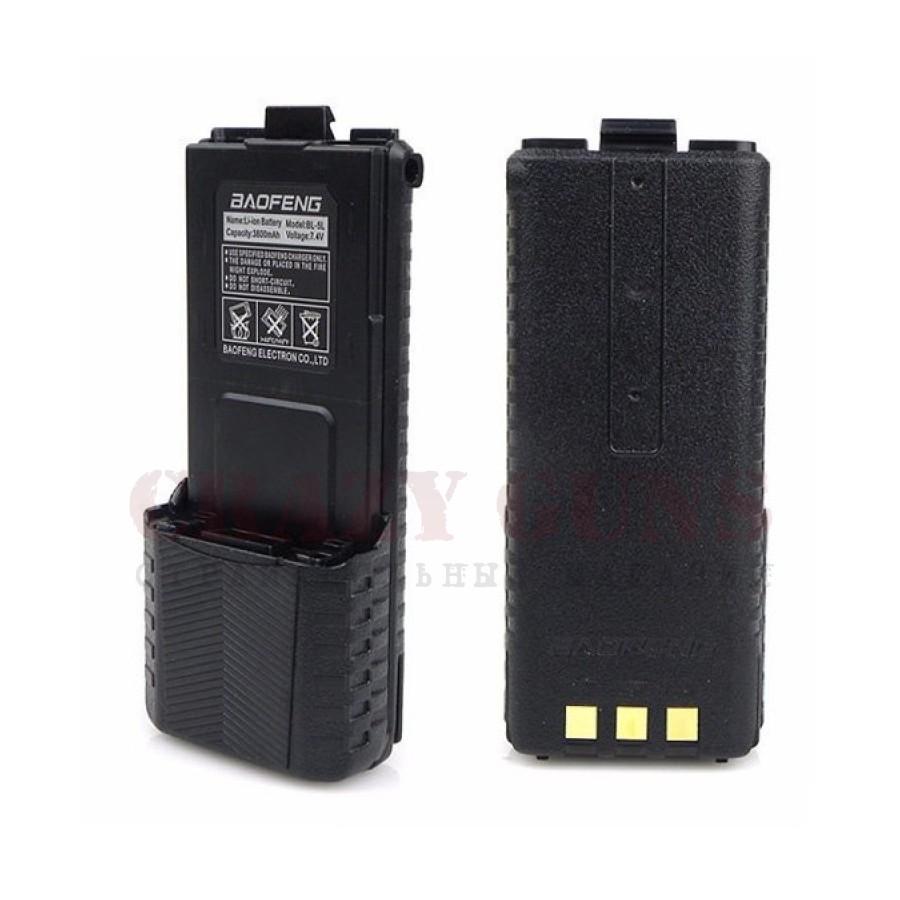 Аккумулятор расширенный 3800мА.ч для UV-5R BL-5L