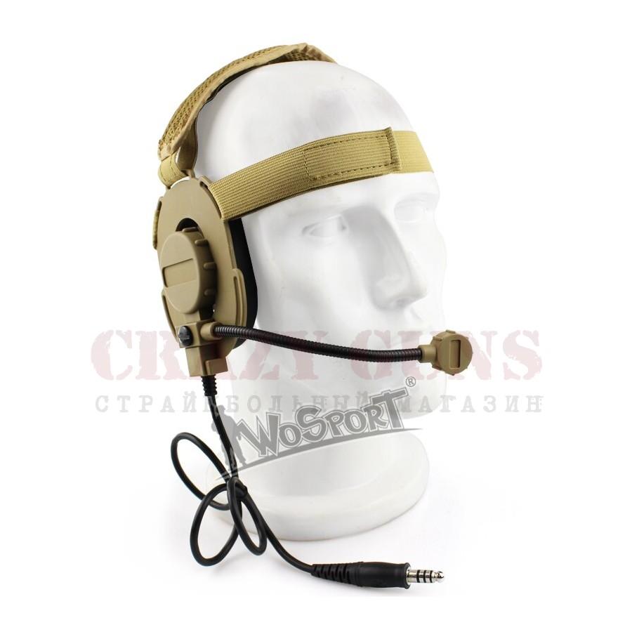 Wosport Гарнитура Bowman EVO3 Headset, TAN (HD-04-III-T)