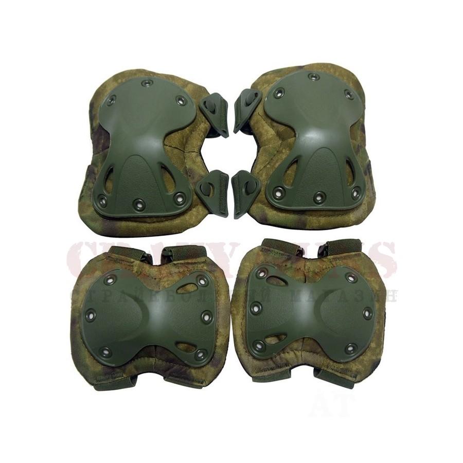 Наколенники+налокотники X-SWAT Green (A-TACS FG)