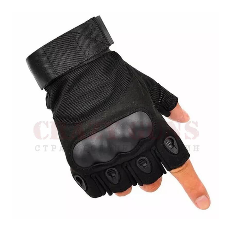 Перчатки Oakley csa (без пальцев) Black. L