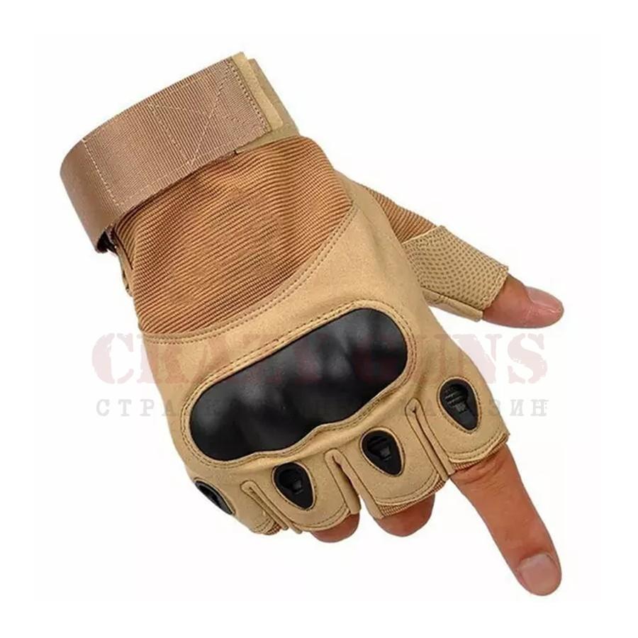Перчатки Oakley csa (без пальцев) Tan. M