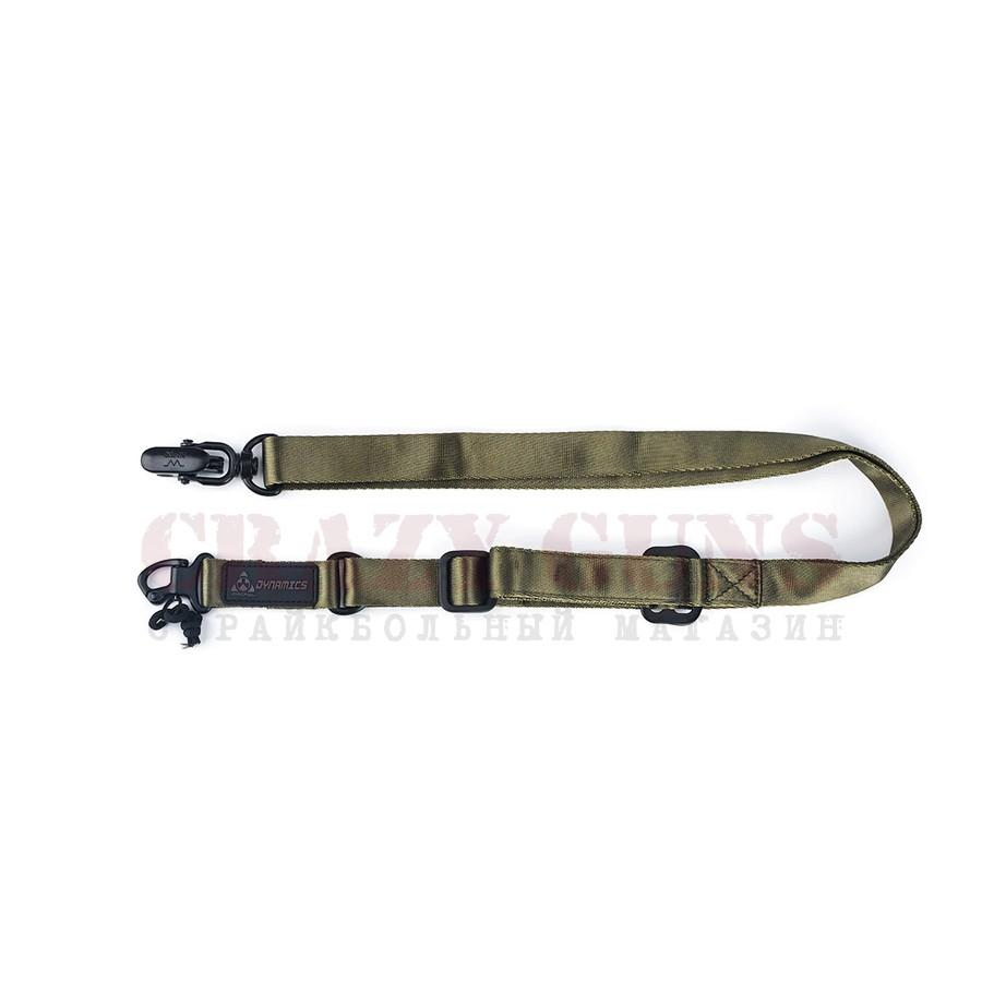 РЕМЕНЬ ОРУЖЕЙНЫЙ MS2 Tactical 2-Point Multi Rifle Green WS24428G AS-SL0008OD