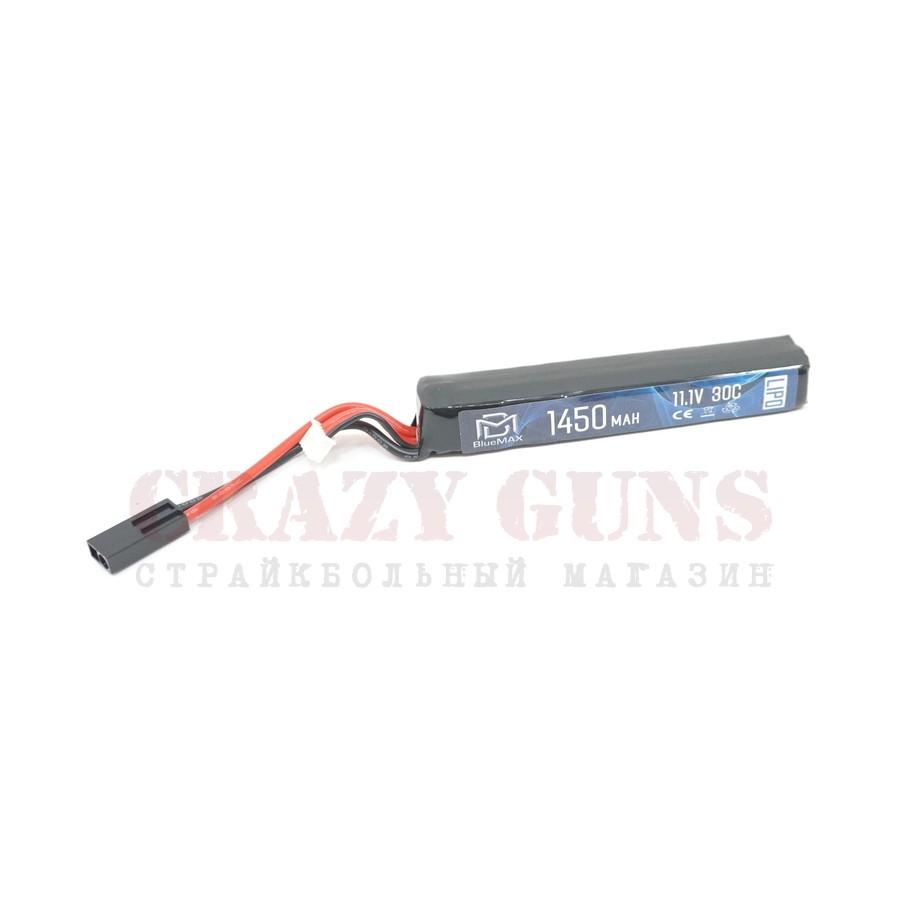 АКБ BlueMAX 11.1V Lipo 1450mAh 30C stick (22x16.5x115)