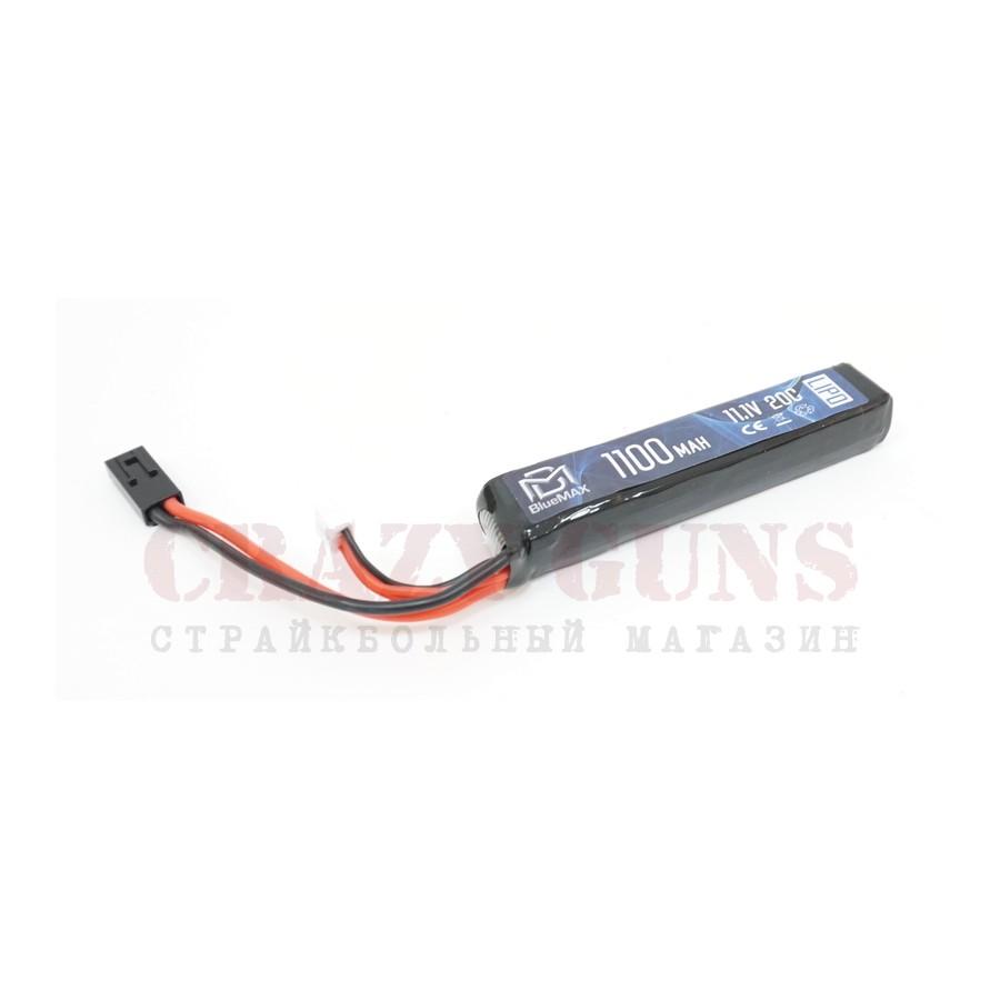 АКБ BlueMAX 11.1V Lipo 1100mAh 20C stick (14.5x21x102)