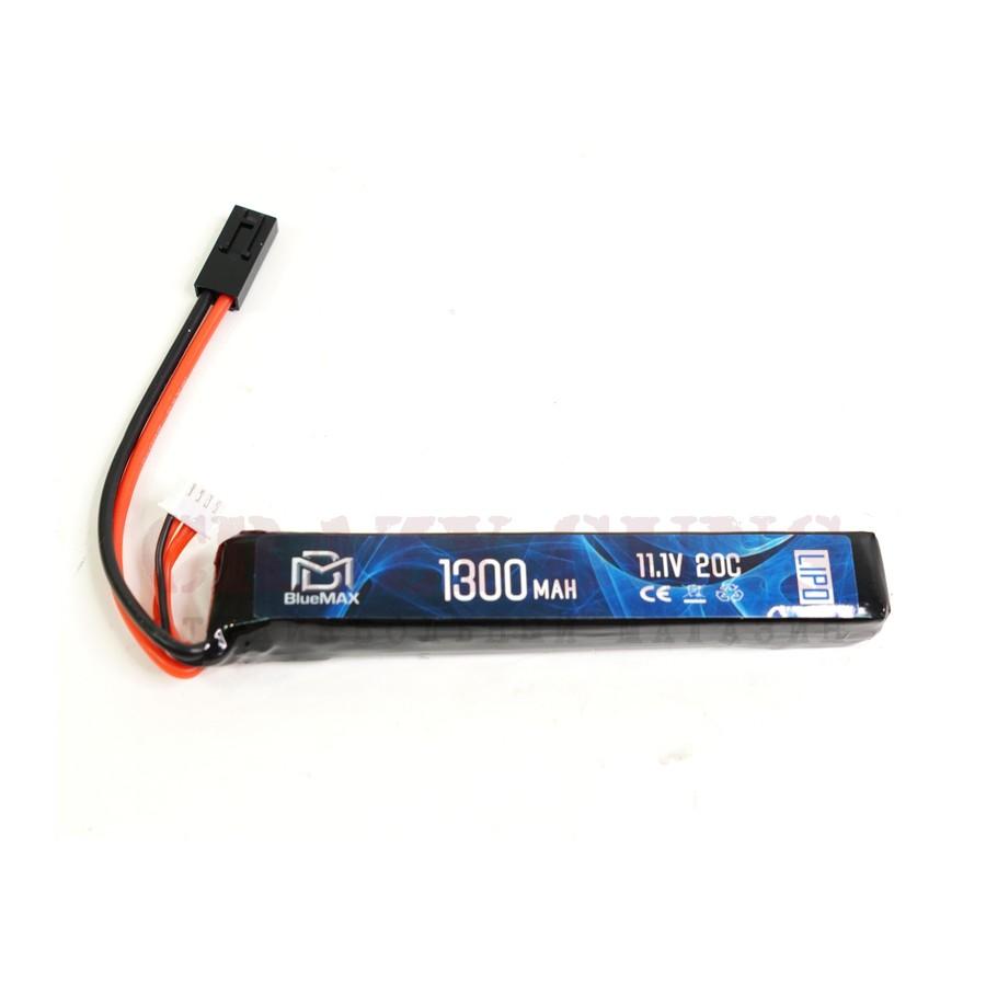 АКБ BlueMAX 11.1V Lipo 1300mAh 20C stick (20x21x128)