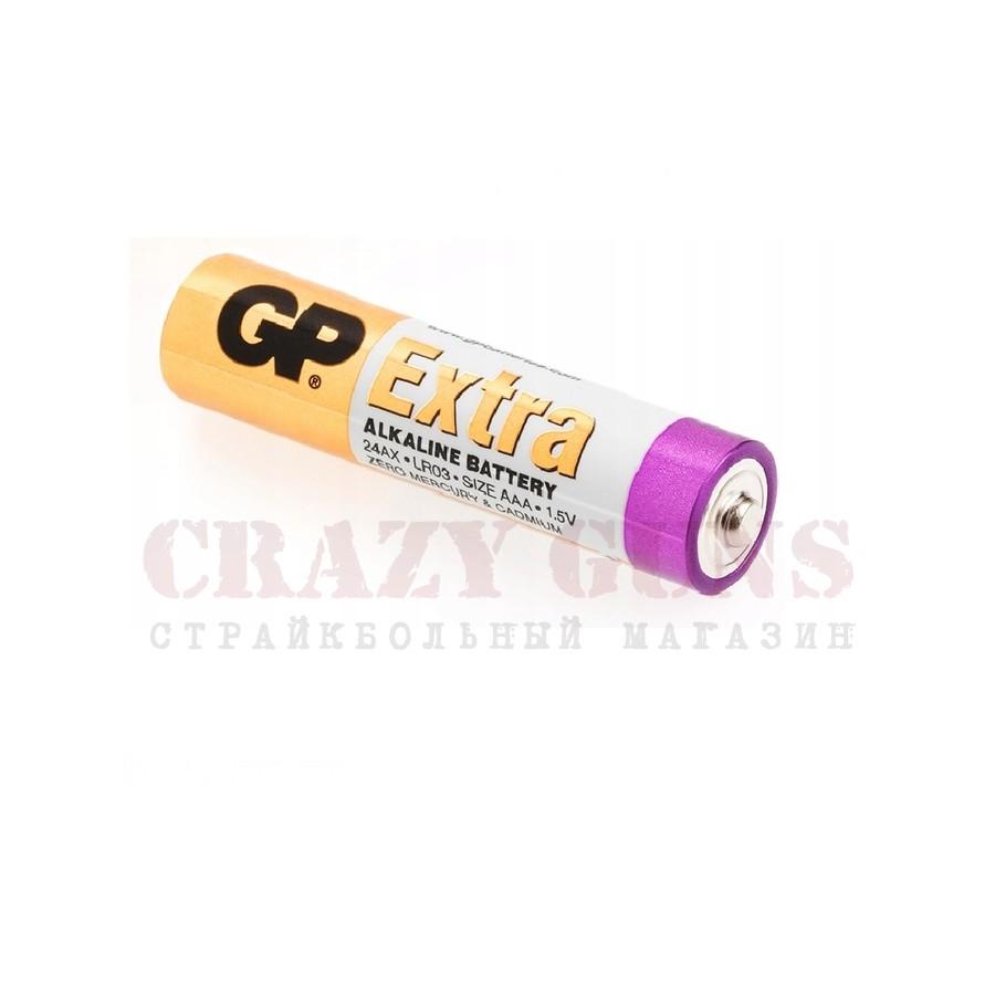 Батарейки GP Extra AAA