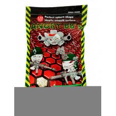 Шарики ТРАССИРУЮЩИЕ ANGRY BBs® 0,32 (ЗЕЛЕНЫЕ, 1кг. пакет) (групповая тара 20 пакетов) AG-032TRG