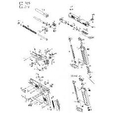 KJW P09  цилиндр нозл в сборе Part 32,35,48,75,91