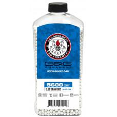 Шарики G&G 0,28 (5600 шт.,белые, бутылка) (групповая тара 12 бутылок) - G-07-234