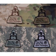 ШЕВРОН ПАТЧ на липучке Your Mom Sends код MSM patch-00047-swat