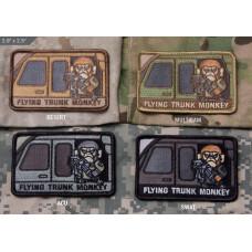 ШЕВРОН ПАТЧ на липучке Flying Trunk Monkey код MSM patch-00070-desert