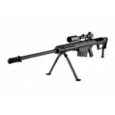 ВИНТОВКА ПНЕВМ. BARRET M107 SNOW WOLF AEG, металл, пластик, оптика 3-9X50E, сошки SW-013A BK