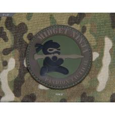 ШЕВРОН ПАТЧ на липучке Midget Ninja RPG код MSM patch-00183-forest
