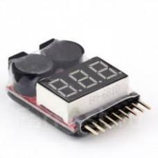 Индикатор разрядки звуковой для LiPo АКБ
