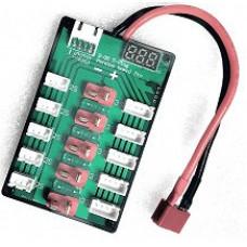 Разветвитель для зарядки нескольких АКБ с индикатором, Т-разъем