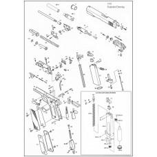 KJW 1911 выпускной клапан Part 80