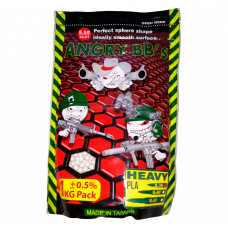 Шарики ANGRY BBs® 0,40 (белые, 1кг. пакет) (групповая тара 20 пакетов) AG-040PLA