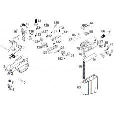 WE СВД GBB комплет деталей механизма затворной задержки магазина Parts 77,78,88,91
