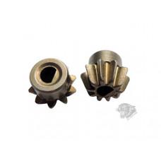 ШЕСТЕРНЯ МОТОРНАЯ D Shaped (Powder Metallurgy) Enhanced Motor Pinion ZCAIRSOFT CL-29