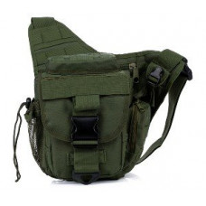 СУМКА НАПЛЕЧНАЯ Tactical Utility Side Shoulder Carrier AS-BS0017OD