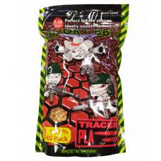 Шарики ТРАССИРУЮЩИЕ ANGRY BBs® 0,20 (КРАСНЫЕ, 1кг. пакет) (групповая тара 20 пакетов) AG-020TRR