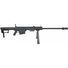 ВИНТОВКА ПНЕВМ. BARRET M107 SNOW WOLF AEG, металл, пластик, без оптики, сошки SW-013 BK
